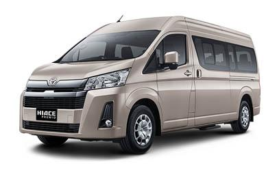 Toyota Hiace Commuter Manual	Luxury