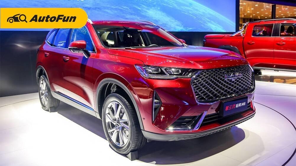 Mengenal SUV Terlaris di China, Haval H6 Calon Rival Honda CR-V dan Wuling Almaz 01