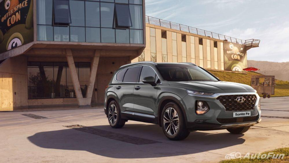 Hyundai Santa Fe 2019 Exterior 004