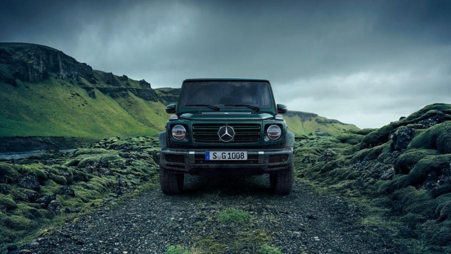 Mercedes-Benz G-Class 2019 Exterior 010