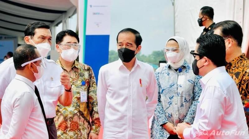 Jokowi Resmikan Pabrik Baterai Mobil Listrik Hyundai Pertama di Asia Tenggara, Mulai Produksi 2024 02