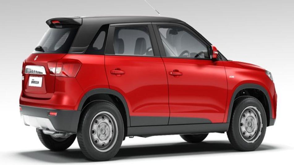 Suzuki Vitara Brezza 2019 Exterior 005