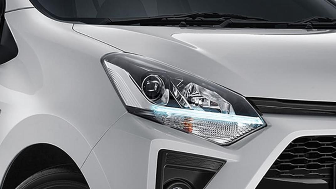 2021 Toyota Agya 1.2 GR Sport A/T Exterior 009