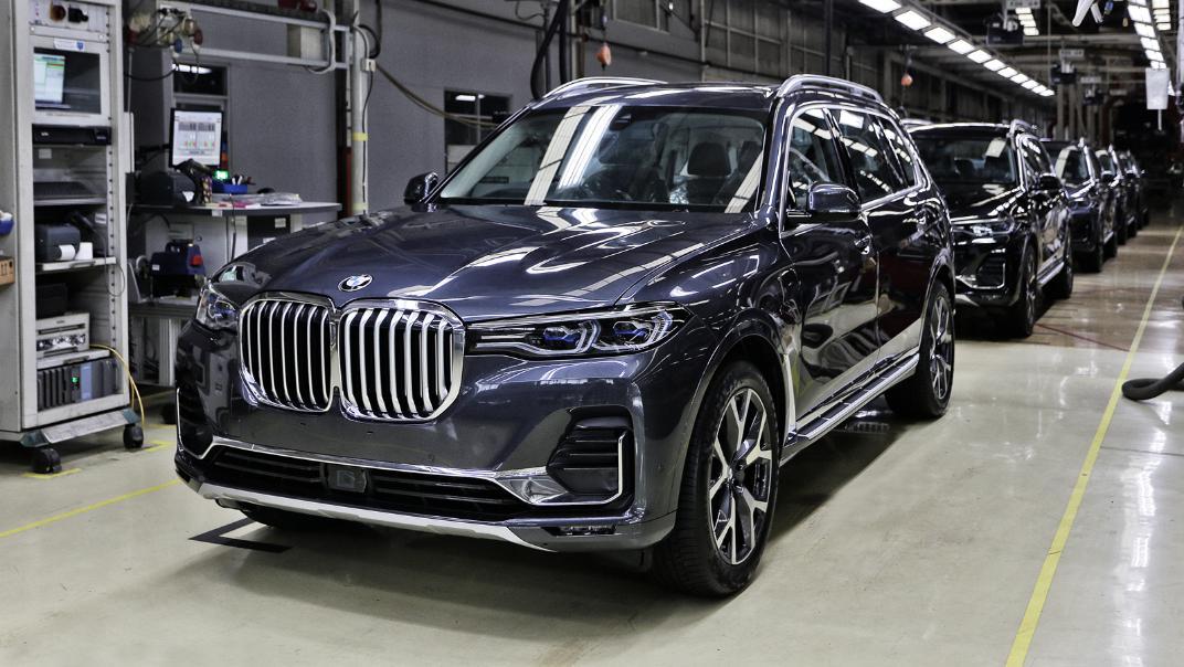 2021 BMW X7 xDrive40i Opulence Exterior 018