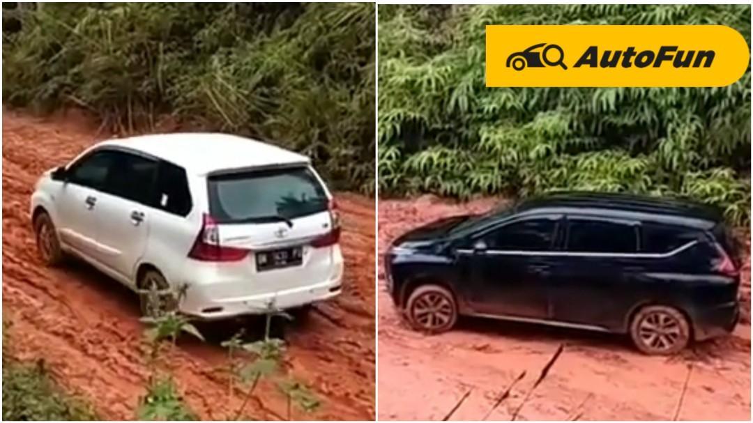 Bukti Ketangguhan RWD Toyota Avanza di Jalan Tanah Pedalaman Kalimantan, Xpander Dengan FWD Keok 01
