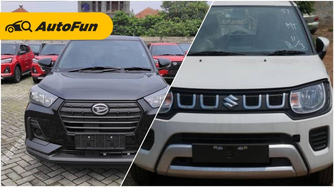Perbandingan Daihatsu Rocky 1.2 M vs Suzuki Ignis GL, Si Pendatang Baru Kalah Tampang Menang Fitur 01