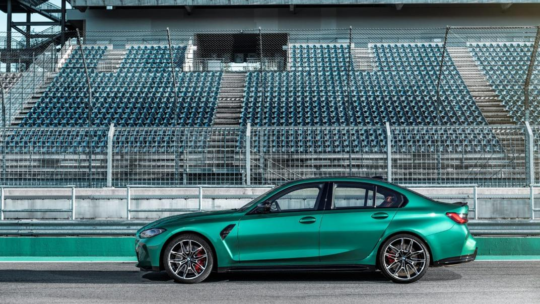 2021 BMW M3 Competition Exterior 012