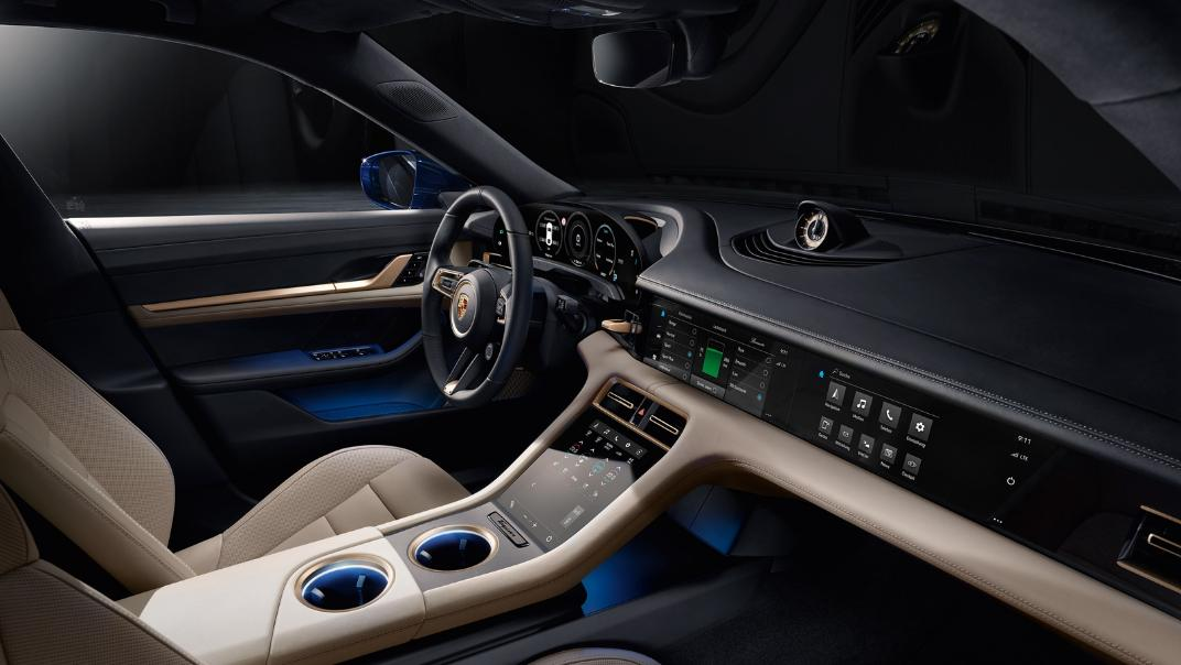 2021 Porsche Taycan Interior 002