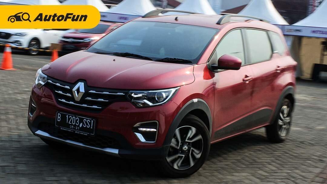 First Drive Singkat Renault Triber RXZ AMT: Harganya Tak Sesuai Ekspektasi 01