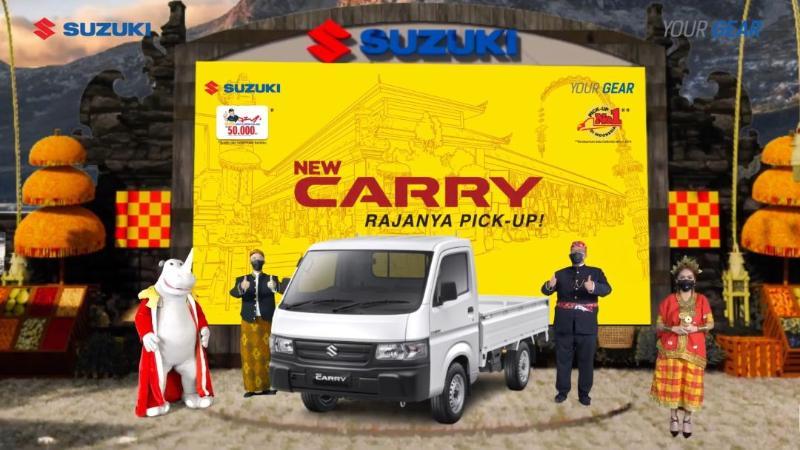 Update Penampilan, Cara Suzuki Carry Pickup 2021 Pertahankan Dominasi di Pasar Kendaraan Niaga 02