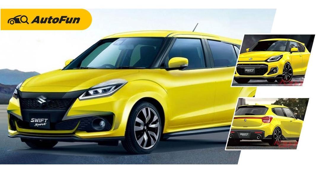 Makin Agresif, Ini Sosok Suzuki Swift 2022 Yang Layak Ditunggu di Indonesia 01