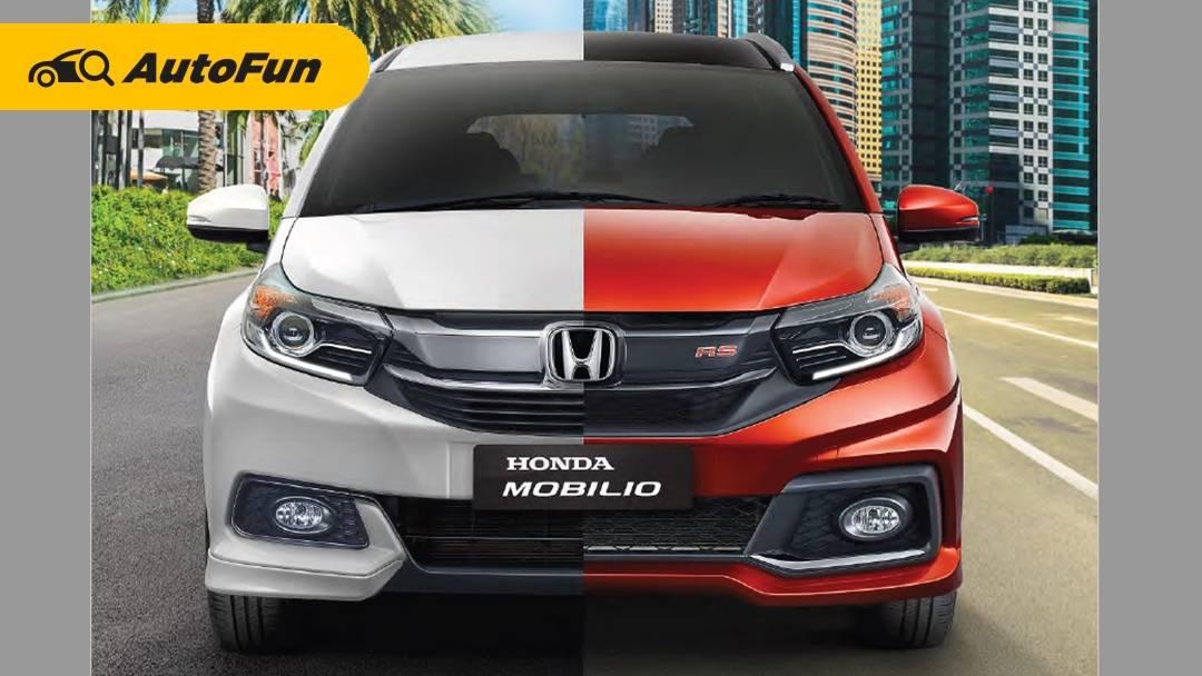 Ini Dia Nasib Honda Mobilio Setelah All New Honda BR-V 2022 Meluncur 01