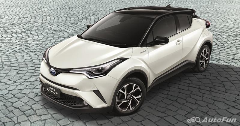 Kurang Laku, Toyota C-HR Bermesin Bensin Tidak Lagi Dijual di Thailand 01