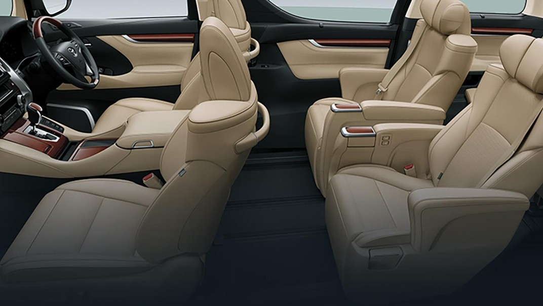 Toyota Alphard 2019 Interior 012